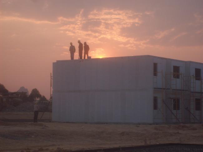 פרויקט בניה באנגולה