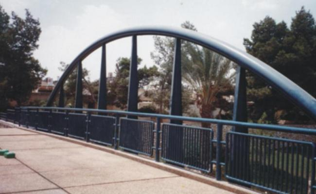 גשר יעלים להולכי רגל – באר שבע