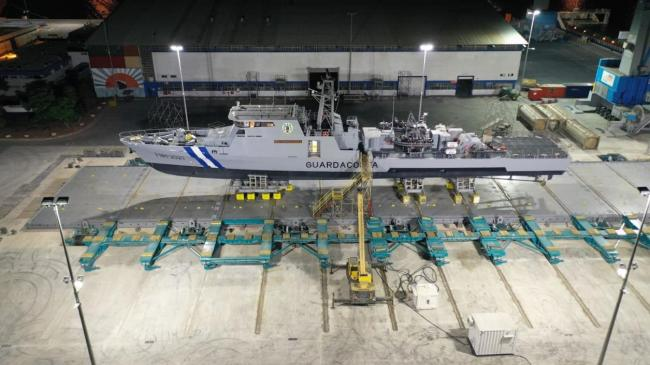 Syncrolift - מספנות ישראל - מעלית ייעודית לספינות